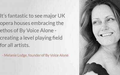 By Voice Alone: interview with Melanie Lodge